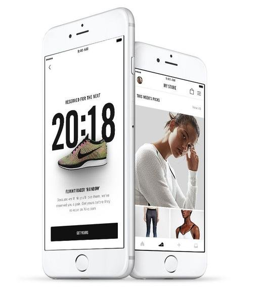 Omnichannel user experience Nike